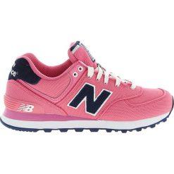 New Balance - Buty WL574POP. Różowe buty sportowe damskie New Balance, z materiału. W wyprzedaży za 239,90 zł.