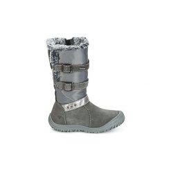 Śniegowce Dziecko Primigi  INGA-E GORE-TEX. Czarne buty zimowe chłopięce marki ecco, z gore-texu, na sznurówki. Za 293,30 zł.