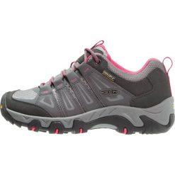 Keen OAKRIDGE WP Półbuty trekkingowe magnet/rose. Białe półbuty damskie marki Nike Performance, z materiału, na golfa. Za 379,00 zł.
