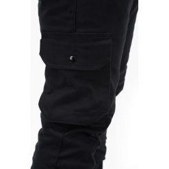SPODNIE MĘSKIE JOGGERY P388 - CZARNE. Czarne joggery męskie Ombre Clothing. Za 69,00 zł.