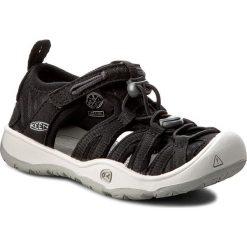 Sandały KEEN - Moxie Sandal 1016695 Black/Vapor. Czarne sandały chłopięce Keen, z materiału. W wyprzedaży za 179,00 zł.