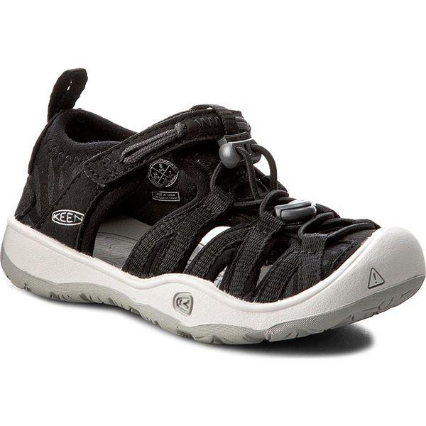 f74a0a3f Sandały KEEN - Moxie Sandal 1016695 Black/Vapor - Czarne sandały męskie Keen,  z materiału, bez zapięcia. Za 229,95 zł. - Sandały męskie - Buty męskie -  Buty ...