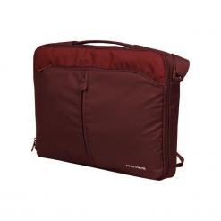 """Sumdex CC - 02 Cranberry 15""""-16"""" czerwona. Czerwone torby na laptopa Sumdex, w paski. Za 89,00 zł."""