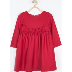 Sukienka. Czerwone sukienki dziewczęce wizytowe Minimi, z wełny. Za 169,00 zł.