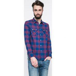 Lee - Koszula. Szare koszule męskie na spinki marki Lee, l, z bawełny, button down, z długim rękawem. W wyprzedaży za 149,90 zł.