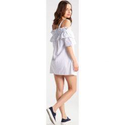 Sukienki hiszpanki: Missguided Petite BARDOT STRIPE  Sukienka letnia white
