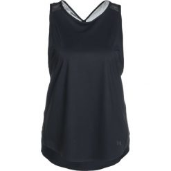 Under Armour FREE CUT KEY HOLE Koszulka sportowa black. Czarne t-shirty damskie Under Armour, xs, z elastanu. Za 169,00 zł.