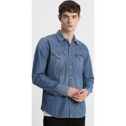 Replay Koszula blue denim. Zielone koszule męskie marki Replay, z bawełny. Za 409,00 zł.