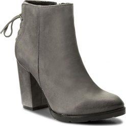 Botki SERGIO BARDI - Atessa FW127278717AF 409. Szare buty zimowe damskie Sergio Bardi, z nubiku, na obcasie. W wyprzedaży za 239,00 zł.