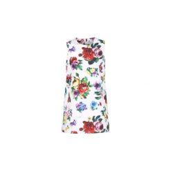Sukienki krótkie Love Moschino  WVE7200. Białe sukienki mini marki Love Moschino, z krótkim rękawem. Za 692,30 zł.