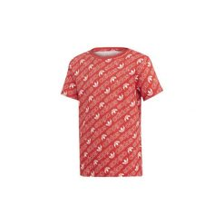 Bluzki dziewczęce z krótkim rękawem: T-shirty z krótkim rękawem Dziecko  adidas  Koszulka Trefoil Monogram