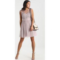 Sukienki hiszpanki: Little Mistress Petite LACE INSERT DRESS Sukienka koktajlowa mink