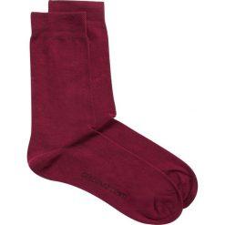 Skarpety SAAK000049. Czerwone skarpetki męskie Giacomo Conti, w jednolite wzory, z bawełny. Za 19,00 zł.
