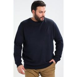 Swetry klasyczne męskie: BAD RHINO CREW REGULAR FIT Sweter navy