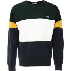 Lacoste Sweter meridian blue/flour/sinople/darjeeling yellow/meridian blue. Szare swetry klasyczne męskie marki Lacoste, z bawełny. Za 749,00 zł.