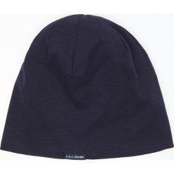 Bawełniana czapka - Granatowy. Niebieskie czapki męskie marki Cropp, z bawełny. Za 29,99 zł.