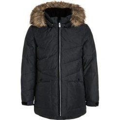Reima JUSSI Płaszcz puchowy dark melange grey. Niebieskie kurtki chłopięce marki Reima, z materiału. W wyprzedaży za 439,20 zł.