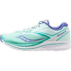 Saucony KINVARA 9 Obuwie do biegania treningowe aqua/white. Niebieskie buty do biegania damskie Saucony, z materiału. Za 569,00 zł.