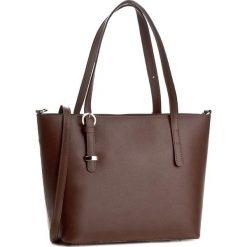 Torebka CREOLE - K10279  Ciemny Brąz. Brązowe torebki klasyczne damskie Creole, ze skóry, duże. W wyprzedaży za 239,00 zł.