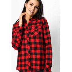 Czerwona Koszula On Fashion List. Czarne koszule męskie marki Born2be, l, z aplikacjami, z dresówki. Za 39,99 zł.
