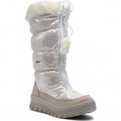Śniegowce MANITU - 991224 Weiss 3. Białe śniegowce damskie Manitu, z materiału. Za 399,00 zł.