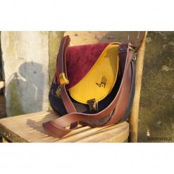 CELYNA torba dwukomorowa LISTOPADOWY LAS. Brązowe torebki klasyczne damskie marki Pakamera, ze skóry. Za 440,00 zł.