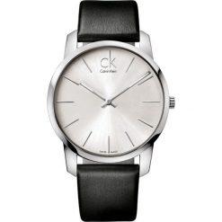 ZEGAREK CALVIN KLEIN CITY GENT K2G211C6. Szare zegarki męskie marki Calvin Klein, szklane. Za 739,00 zł.