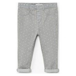 Mango Kids - Jeansy dziecięce Norag 80-104 cm. Niebieskie rurki dziewczęce Mango Kids, z bawełny. Za 59,90 zł.