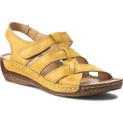 Rzymianki damskie: Sandały WALDI – 0853 Żółty