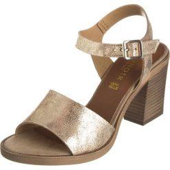 Rzymianki damskie: Sandały w kolorze szarobrązowym
