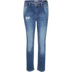 """Spodnie z wysokim stanem: Dżinsy """"Samantha"""" w kolorze niebieskim"""