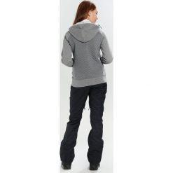 Oakley SUNDOWN HOODIE Bluza rozpinana athletic heather grey. Szare bluzy damskie Oakley, l, z bawełny. W wyprzedaży za 350,10 zł.