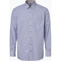 Eterna Modern Fit - Koszula męska – niewymagająca prasowania, niebieski. Niebieskie koszule męskie non-iron marki Eterna Modern Fit, m, w kratkę, z klasycznym kołnierzykiem. Za 229,95 zł.