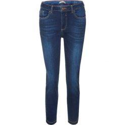 """Spodnie z wysokim stanem: Dżinsy """"Marylin"""" w kolorze granatowym"""
