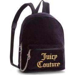Plecak JUICY COUTURE BLACK LABEL - Delta JBH5001 Black. Czarne plecaki damskie Juicy Couture Black Label, z materiału, klasyczne. Za 599,00 zł.