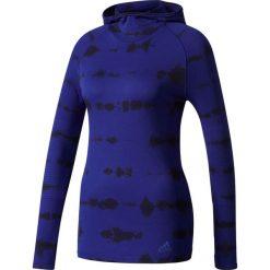 Bluza do biegania damska ADIDAS PRIMEKNIT LONG SLEEVE HOODED TEE / BQ9392. Szare bluzy sportowe damskie marki Adidas, l, z dresówki, na jogę i pilates. Za 415,00 zł.
