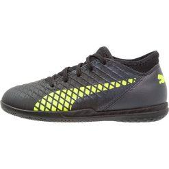 Puma FUTURE 18.4 IT Halówki black/fizzy yellow/asphalt. Czarne buty sportowe chłopięce Puma, z materiału. Za 189,00 zł.