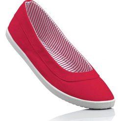 Baleriny bonprix czerwony. Czerwone baleriny damskie bonprix. Za 49,99 zł.