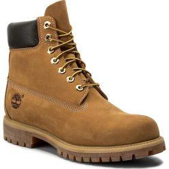 Trapery TIMBERLAND - Af 6In Prem Bt 10061/TB0100617131 Wheat Yellow. Żółte timberki męskie marki Timberland, z gumy. W wyprzedaży za 629,00 zł.