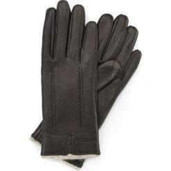 Rękawiczki damskie 44-6-511-1. Czarne rękawiczki damskie marki Wittchen, z wełny. Za 99,00 zł.
