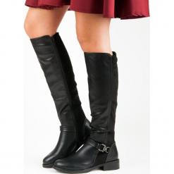 STYLOWE OFICERKI. Brązowe buty zimowe damskie Super Mode. Za 128,00 zł.