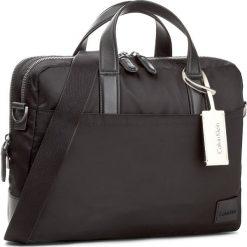 Torba na laptopa CALVIN KLEIN BLACK LABEL - Ease Laptop Bag Extr K50K503470 001. Czarne plecaki męskie marki Calvin Klein Black Label, z materiału. W wyprzedaży za 589,00 zł.