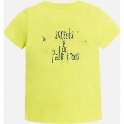 Mayoral - T-shirt dziecięcy 92-134 cm. Szare t-shirty chłopięce z nadrukiem marki bonprix, m, z dzianiny, z kontrastowym kołnierzykiem. Za 54,90 zł.