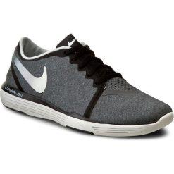 Buty NIKE - Lunar Sculpt 818062 006 Black/Summit White/Dark Grey. Szare buty do fitnessu damskie marki Nike, z materiału. W wyprzedaży za 299,00 zł.