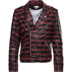 Soulland RICHENBACK HEAVY Kurtka skórzana black/red. Czarne kurtki męskie skórzane marki Soulland, m. W wyprzedaży za 845,70 zł.
