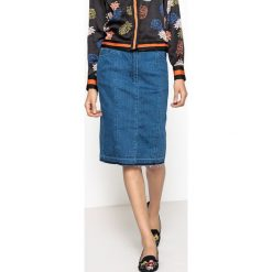 Długie spódnice: Spódnica dżinsowa