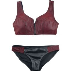 Black Premium by EMP I Want To Go To The Beach Bikini czarny/czerwony. Czerwone bikini marki DOMYOS, z elastanu. Za 62,90 zł.