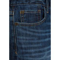 GAP Szorty jeansowe dark indigo. Niebieskie spodenki chłopięce GAP, z bawełny. Za 129,00 zł.