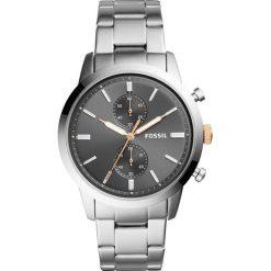 Zegarek FOSSIL - Townsman FS5407  Silver/Silver. Różowe zegarki męskie marki Fossil, szklane. Za 629,00 zł.