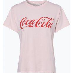 Review - T-shirt damski – Coke Tee, różowy. Szare t-shirty damskie marki Review, l, z tkaniny, z okrągłym kołnierzem. Za 69,95 zł.
